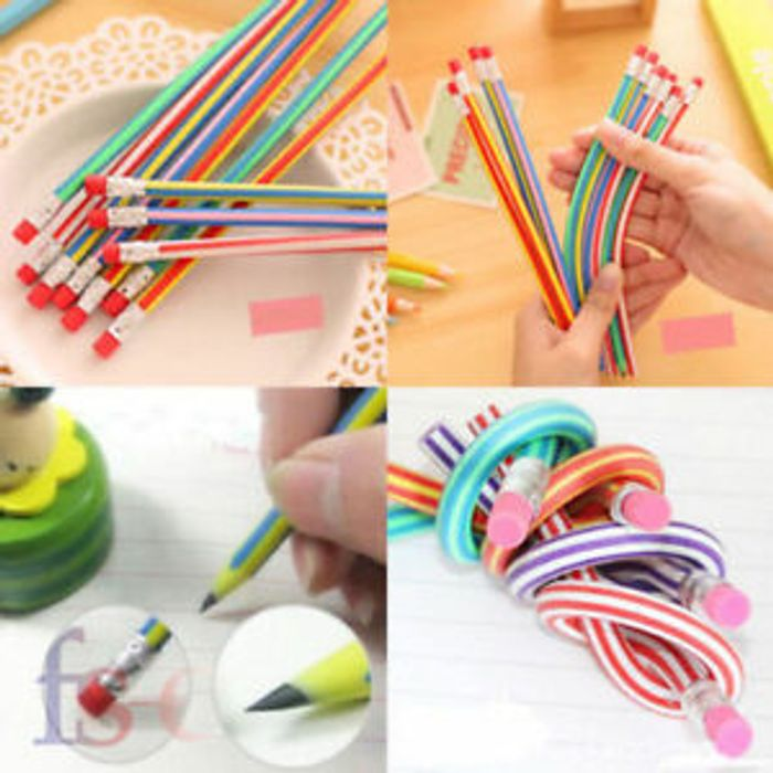 Special Offer - 30 X Soft Flexible Bendy Pencils