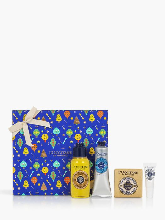 Cheap L'Occitane Shea Butter Delight Treats Bodycare Gift Set, reduced by £6!