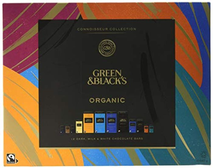 Green & Black's Organic Tasting Collection Boxed Chocolate