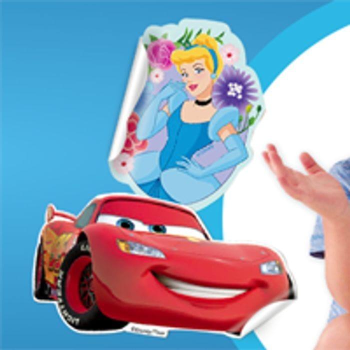Free Disney Cars or Princess Stickers