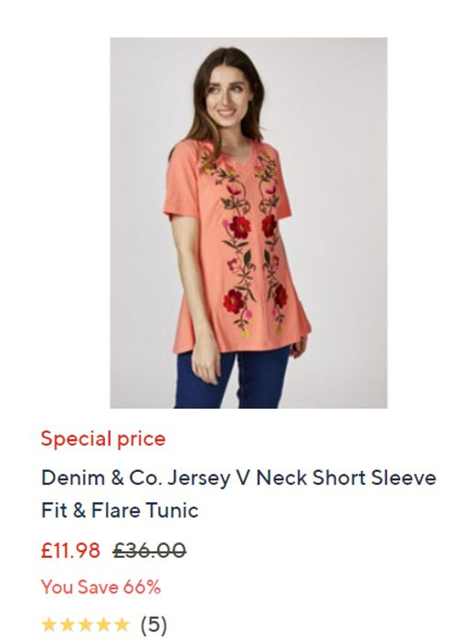5 Pages Of Further Reductions On Clearance Items At QVC