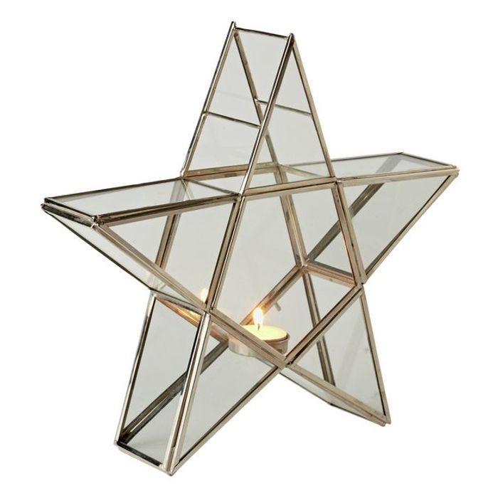 Argos Home Winters Cabin Star Tealight Holder