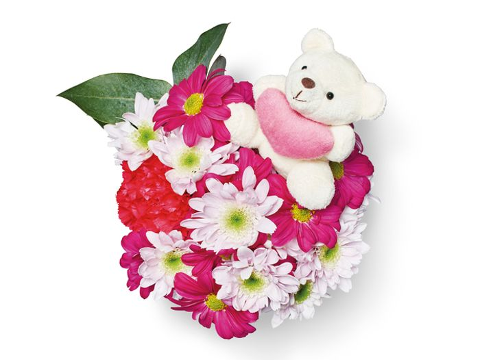 Best Price! Valentines Day Flowers - Bear Hugs Bouquet at Lidl