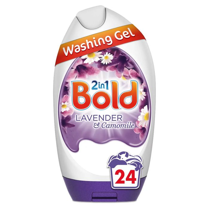 Bold Gel with Lenor Lavender and Camomile 24 Washes