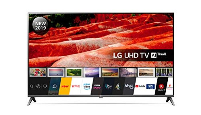 *SAVE over £300* LG 50-Inch UHD 4K HDR Smart LED TV w/Freeview Play (2019)