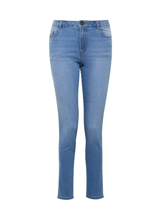 Blue Light Wash 'Ellis' Slim Fit Jeans