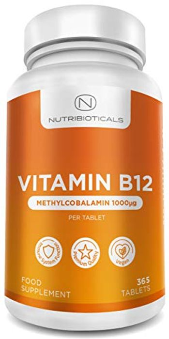 Vitamin B12 Methylcobalamin 1000mcg 365 Tablets