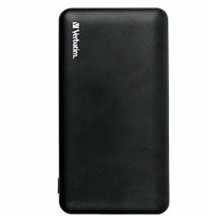 Verbatim 10000mAh Power Bank - Black
