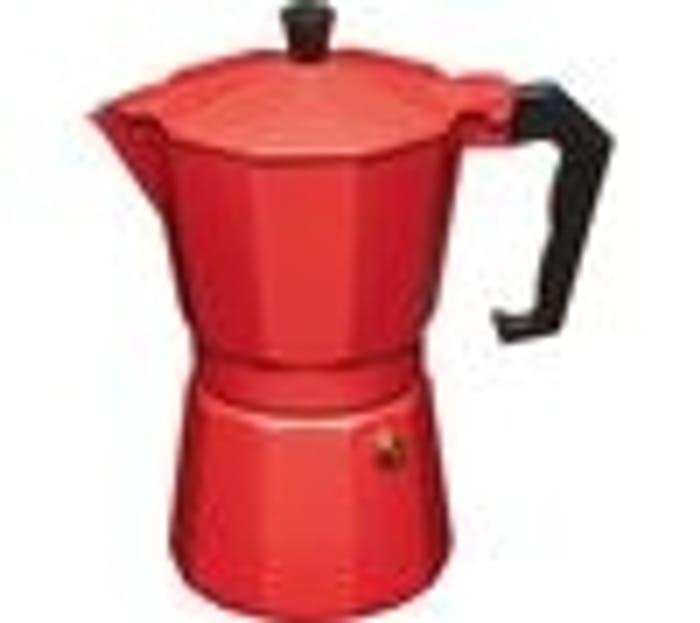 LE'XPRESS Italian Style Espresso Coffee Maker - Red