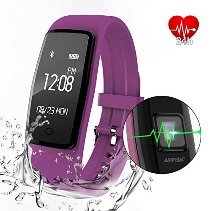 Heart Rate Fitness Tracker Watch - Save 50%