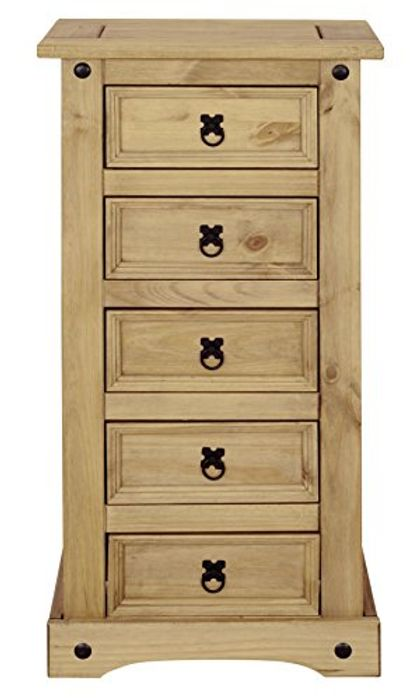 Corona 5 Drawer Narrow Chest - see comments