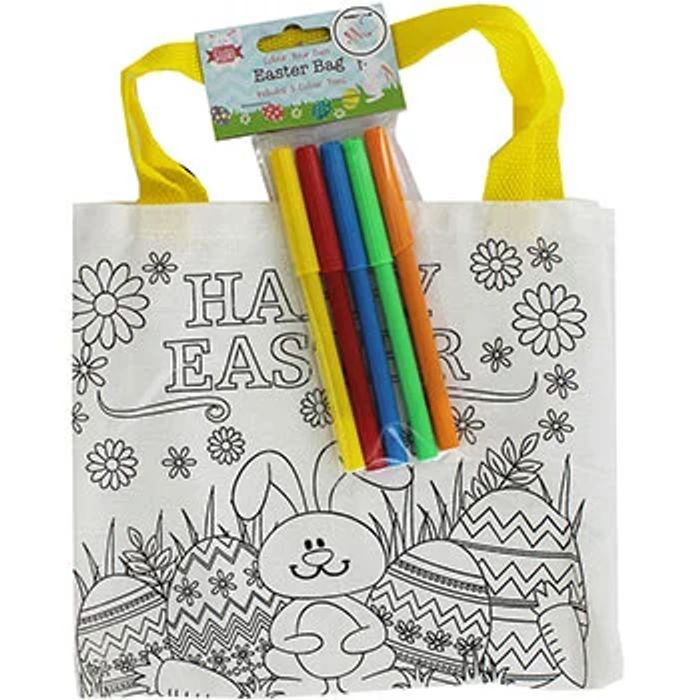 Best Price! Colour Your Own Easter Bag for £1!