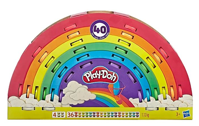 Play-Doh Ultimate Rainbow 40 Pack - save £9.97
