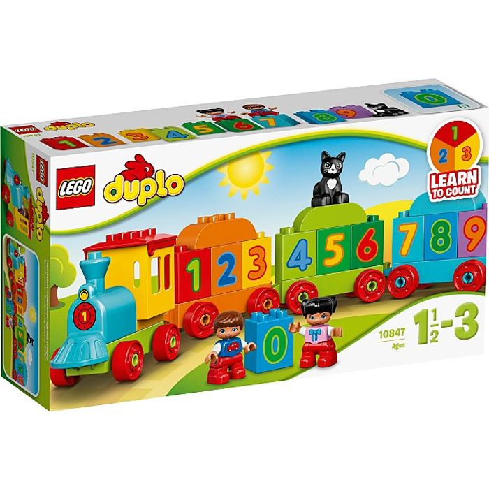LEGO 10847 DUPLO Number Train Preschool Brick Set
