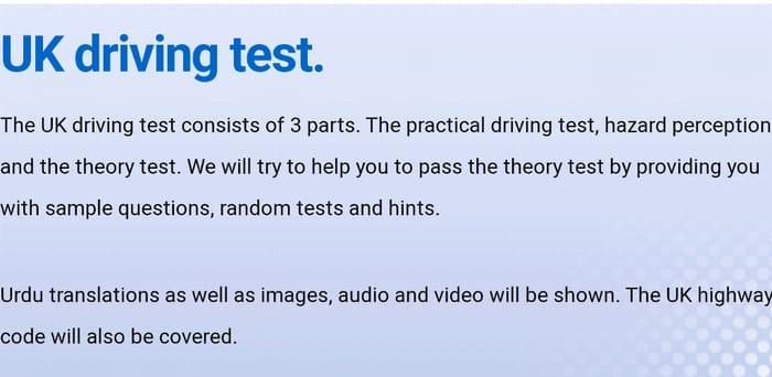 UK Driving Theory