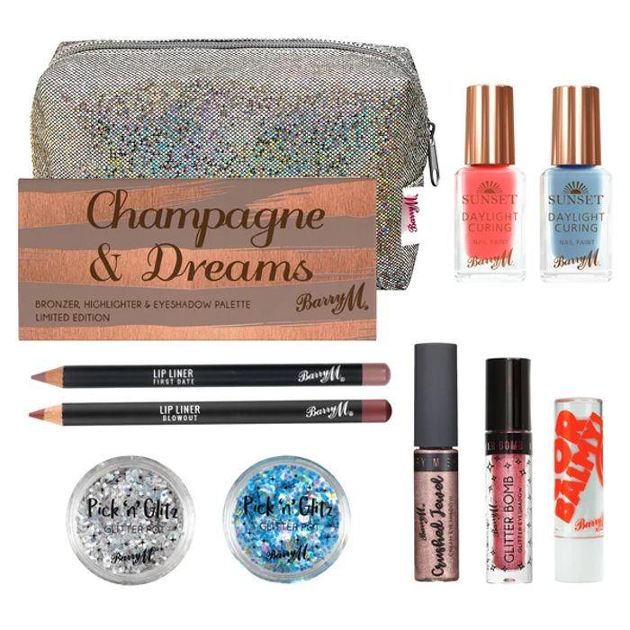Huge Saving Barry M Glitzy Make up Collection by Barry M,save £36!