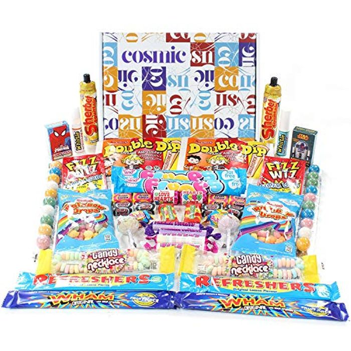 Retro Sweets Cosmic Share Box - a Selection Box Perfect for 2 -