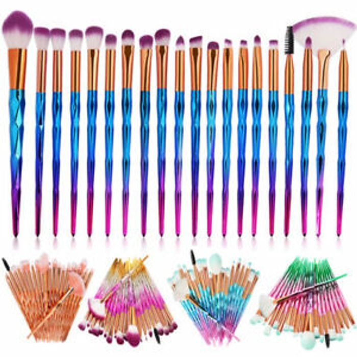 CHEAP! 20 PCS Unicorn Make up Brushes Set at Amazon