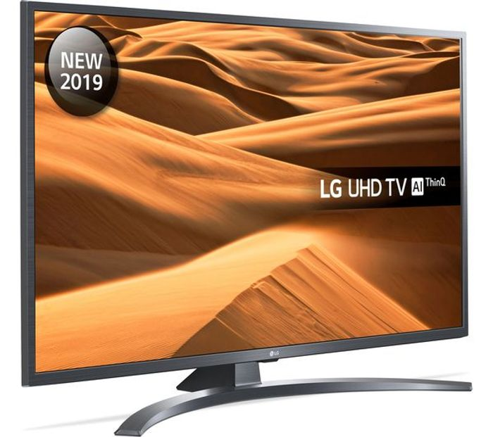 "*SAVE £30* LG 55"" Smart 4K Ultra HD HDR LED TV with Google Assistant"