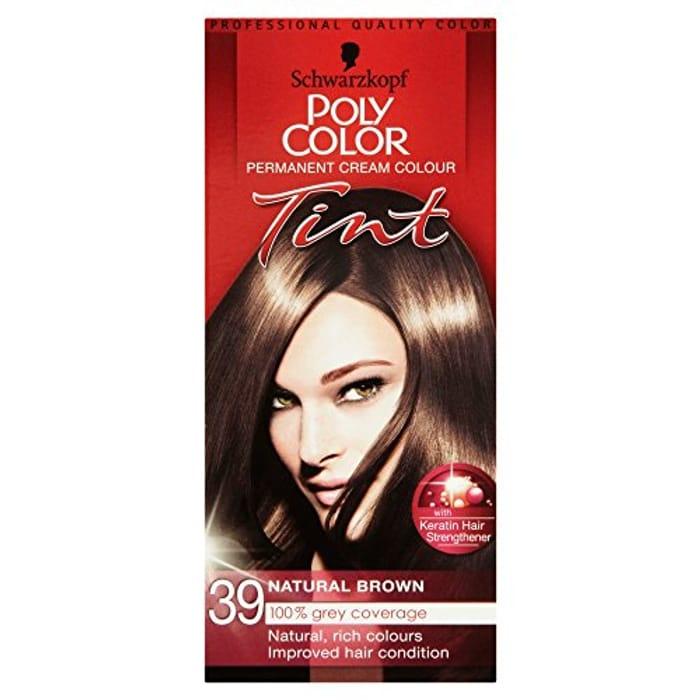 Schwarzkopf PolyColor 39 Natural Brown Hair Colourant