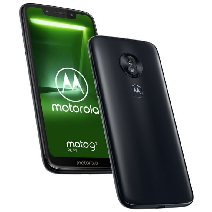 SIM Free Motorola G7 Play 32GB Mobile Phone - Indigo