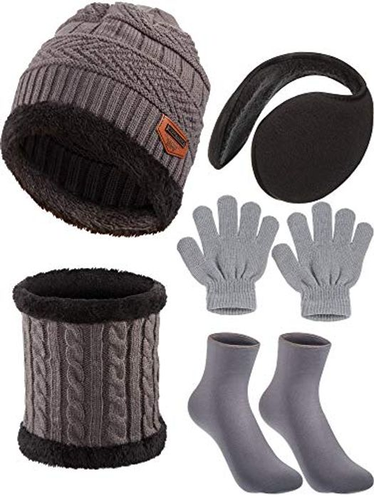 Cheap 5piece Winter Set at Amazon, Only £3.99!
