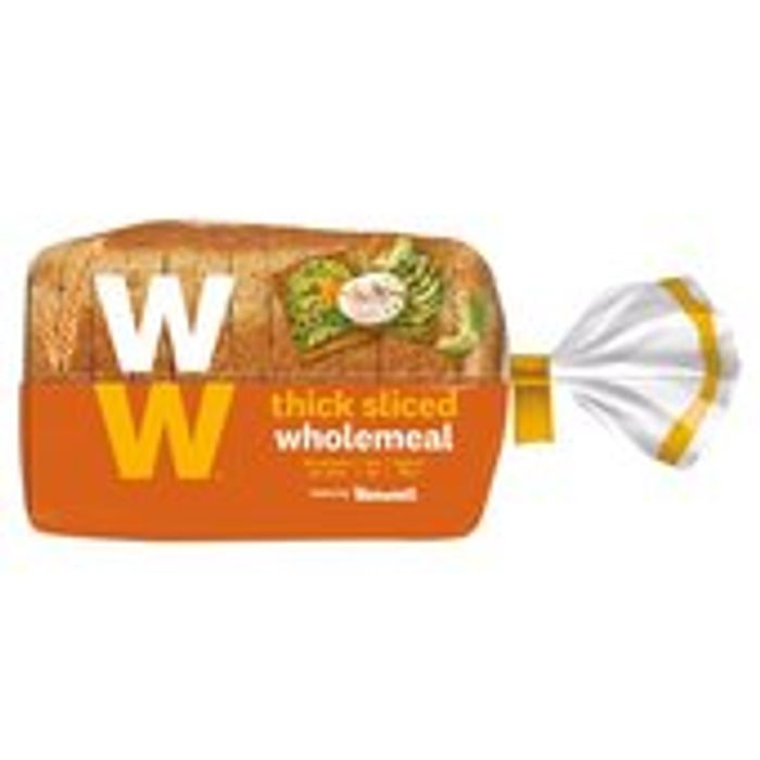 Weight Watchers Thick Wholemeal Loaf 400g