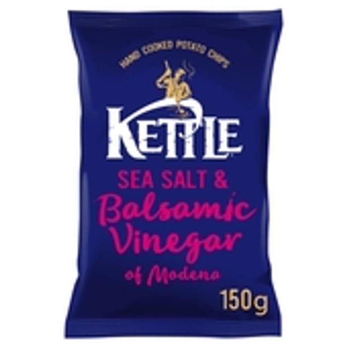 Kettle Chips Sea Salt & Balsamic Vinegar of Modena Crisps 150g