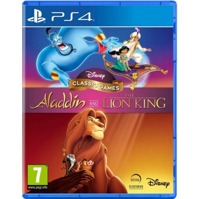 PS4 Disney Classic Games - Lion King and Aladdin £20.50 at the Game Collection