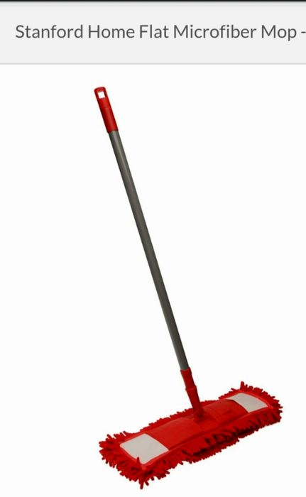 Stanford Home Flat Microfiber Mop.
