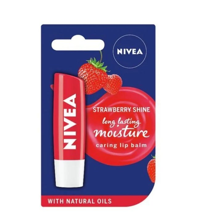 Nivea Lip Fruity Shine Strawberry 4.8g