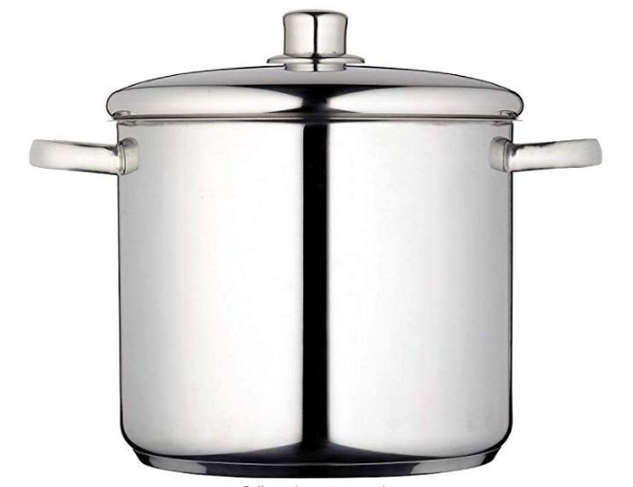 HALF PRICE TODAY! MasterClass Induction-Safe Stainless Steel Stock Pot 8.5 Litre