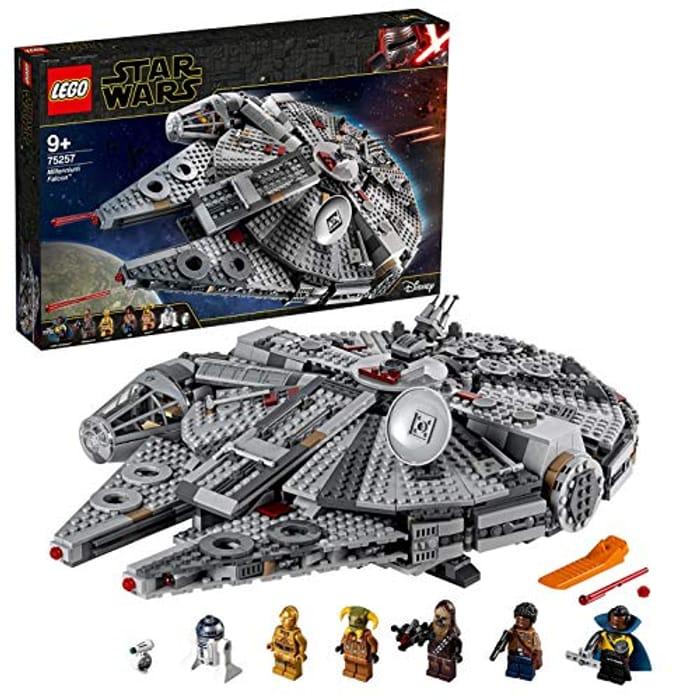 LEGO Star Wars Millennium Falcon (75257) ***4.7 STARS*** 1,351 Pieces!