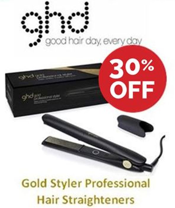 SAVE £44 - Ghd Gold Styler Professional Hair Straighteners **4.6 STARS**