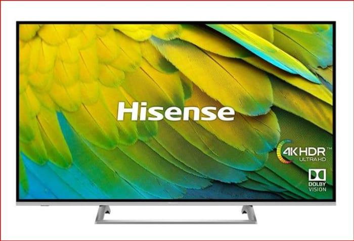 Hisense H65B7500UK 65 Inch 4K Ultra HD Smart TV