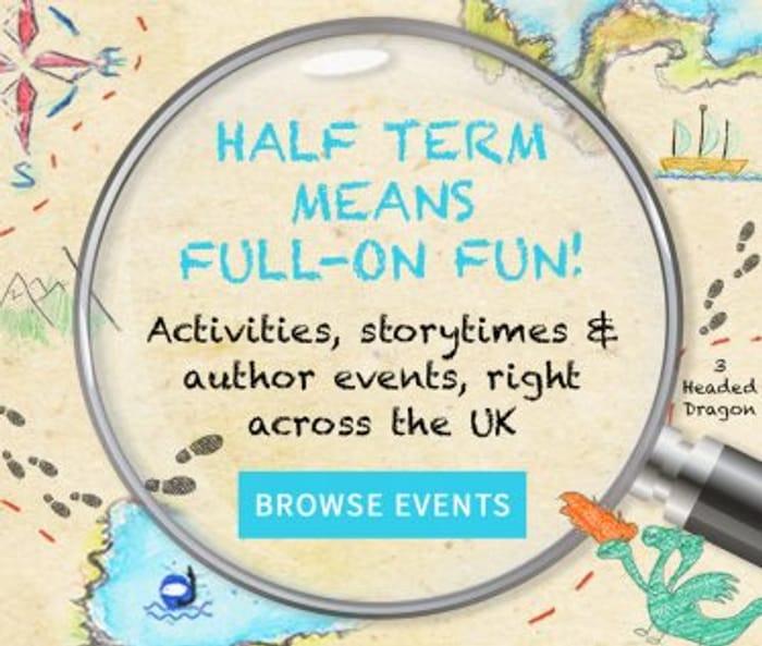 Free Half Term Activities at Waterstones