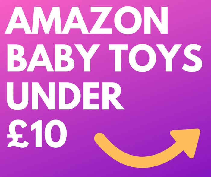 44 Toys for Babies under £10 + Prime Delivery