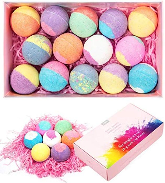 Pack of 14 Anjou Bath Bombs Gift Set