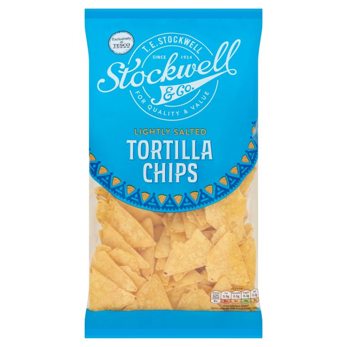 Stockwell & Co Lightly Salted Tortilla 200G