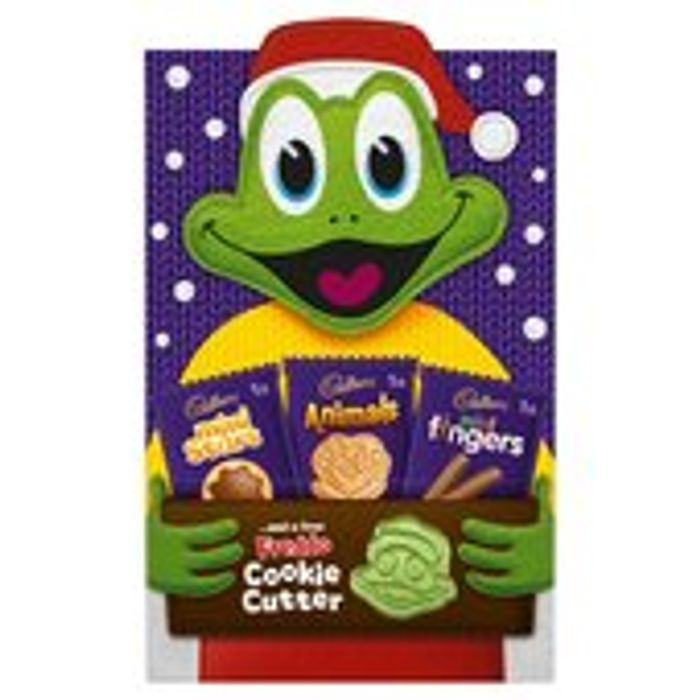 Best Price! Cadbury Mini Chocolate Biscuits and a Free Freddo Cookie Cutter