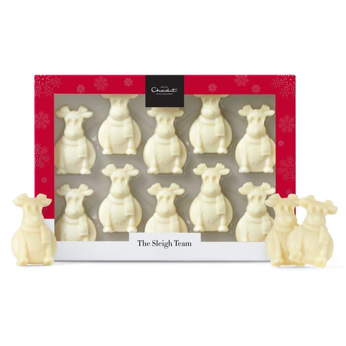 Hotel Chocolat White Chocolate Reindeer