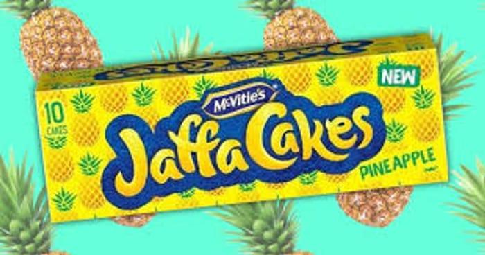 McVitie's 10 Pineapple Jaffa Cakes