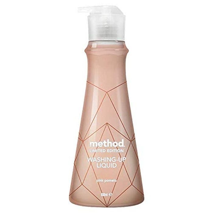 Best Ever Price! Method Rose Gold Pink Pomelo Washing up Liquid (Pack of 6)