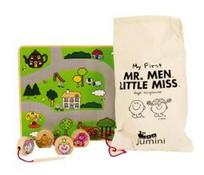 My First Mr Men and Little Miss Lacing Game