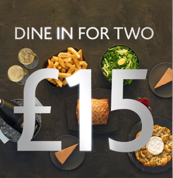 Morrisons Dine in for 2 Valentines Meal Deal with Prosecco £15