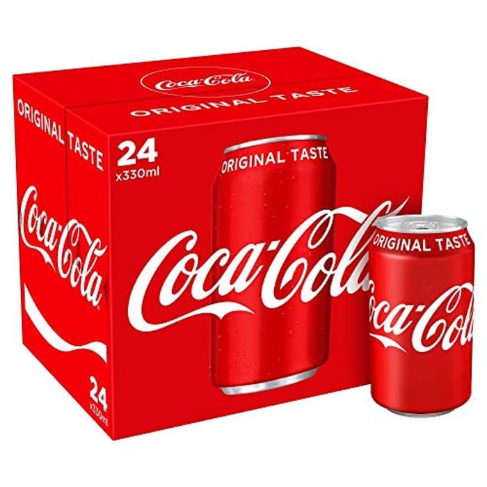 Best Price! Coca-Cola Original Taste 24 X 330ml Cans (Amazon Pantry)