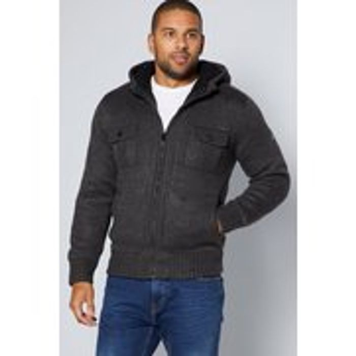 Dissident Lined Knit Sherpa