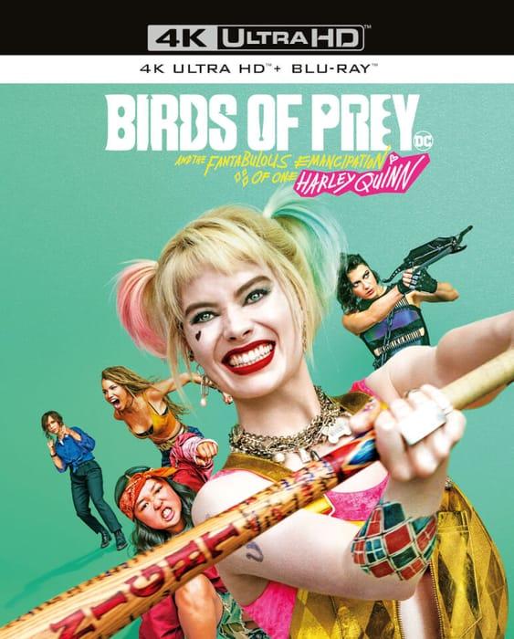 Birds of Prey 4k