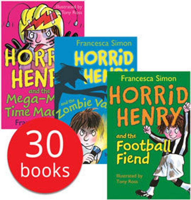 Horrid Henry Mega Collection - 30 Books (Collection)