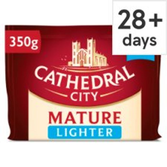 Cheap Cathedral City 550g Cheddar Cheese Just £3.50 at Tesco